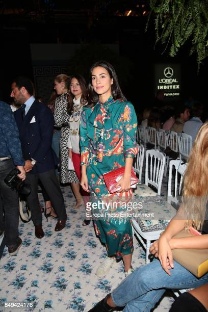 Alessandra de Osma is seen during MercedesBenz Fashion Week Madrid Spring/Summer 2018 at Ifema on September 15 2017 in Madrid Spain