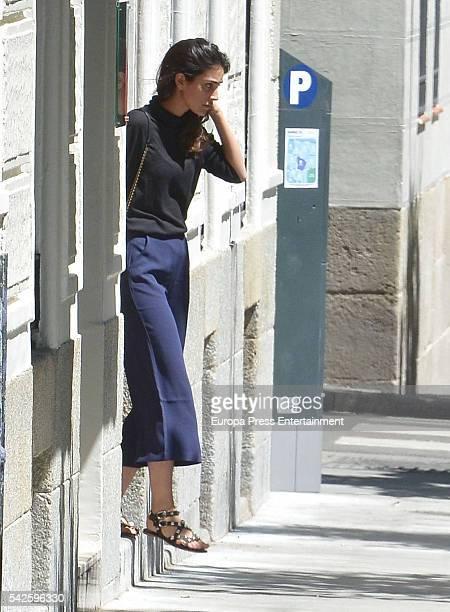 Alessandra de Osma is seen on June 1 2016 in Madrid Spain