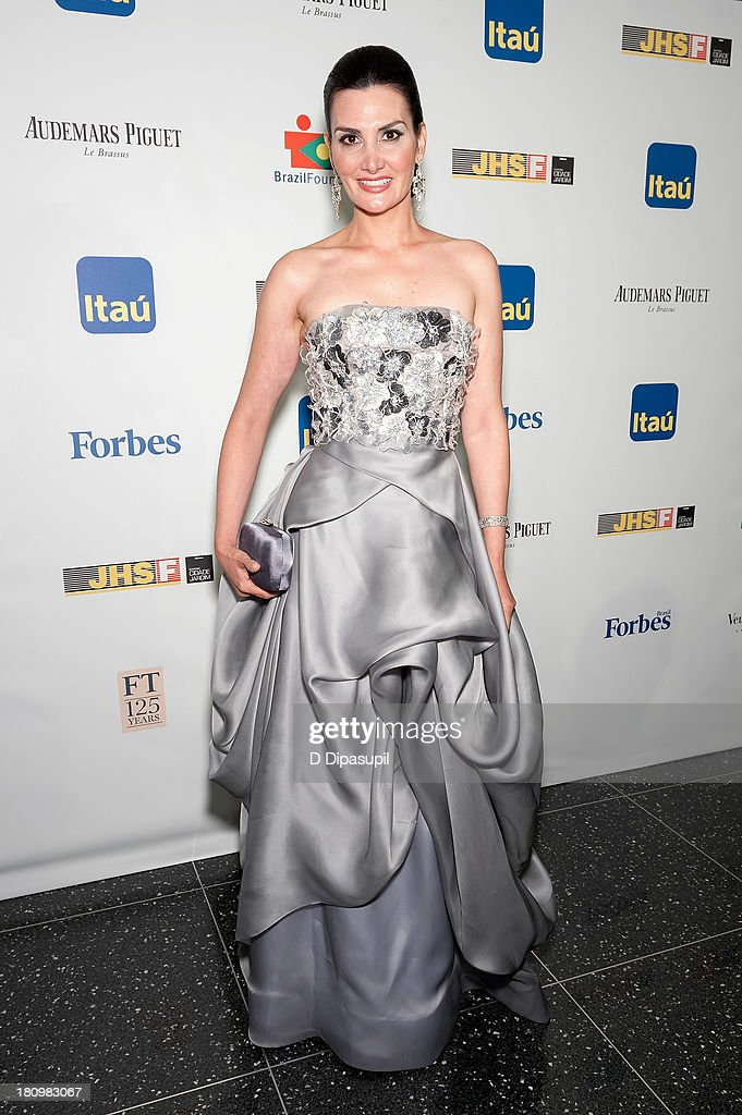 Alessandra Emanuel attends the 11th Brazil Foundation NYC gala at The Museum of Modern Art on September 18, 2013 in New York City.