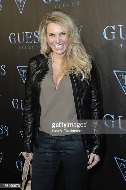 Alessandra Geissel attends 'Guess Presents Tiesto' at P1 on November 15 2012 in Munich Germany