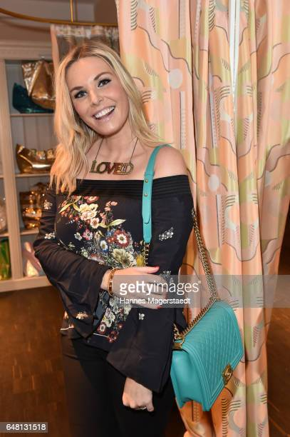 Alessandra Geissel during 'Marcell von Berlin Store Opening' on March 4 2017 in Munich Germany