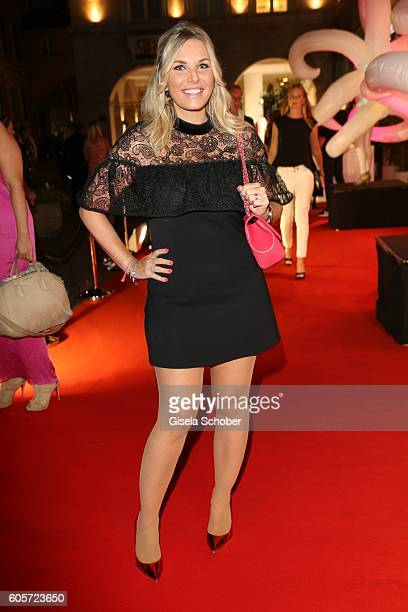 Alessandra Geissel during the H'ugo's Tresor Bar Lounge grand opening on September 14 2016 in Munich Germany