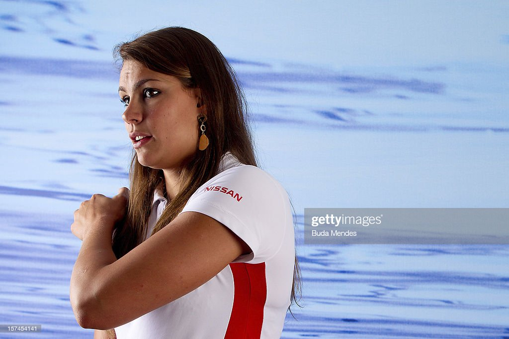 Alessandra Marchioro poses for a picture during the presentation of Team Nissan for Rio de Janeiro Olympics Games 2016 at Cine Lagoon on November 27, 2012 in Rio de Janeiro, Brazil.