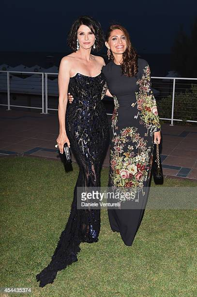 Alessandra Martines and Caterina Murino attend the Kineo Award during the 71st Venice Film Festival on August 31 2014 in Venice Italy