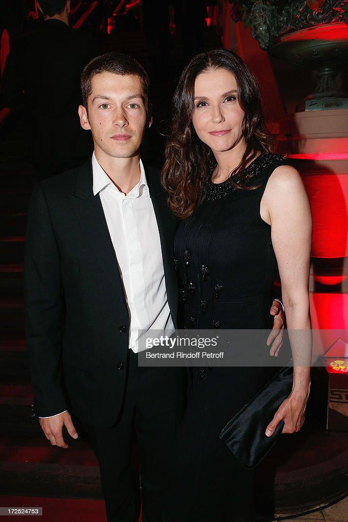 <a gi-track='captionPersonalityLinkClicked' href=/galleries/search?phrase=Alessandra+Martines&family=editorial&specificpeople=633742 ng-click='$event.stopPropagation()'>Alessandra Martines</a> and Cyril Descours attend 'Lancome show by Alber Elbaz' Party at Le Trianon on July 2, 2013 in Paris, France.