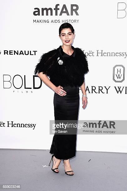 Alessandra Mastronardi arrives at amfAR's 23rd Cinema Against AIDS Gala at Hotel du CapEdenRoc on May 19 2016 in Cap d'Antibes France