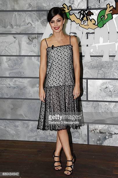 Alessandra Mastronardi attends 'Rischiatutto' Tv Show on December 22 2016 in Milan Italy