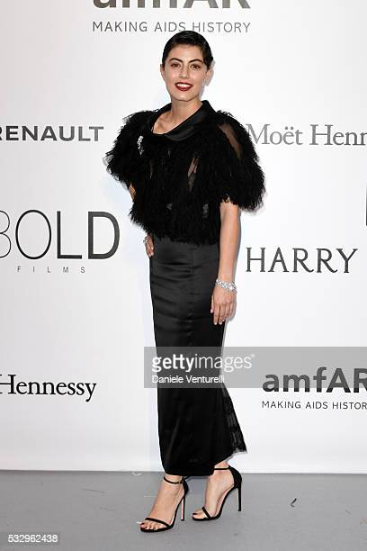 Alessandra Mastronardi attends the amfAR's 23rd Cinema Against AIDS Gala at Hotel du CapEdenRoc on May 19 2016 in Cap d'Antibes France