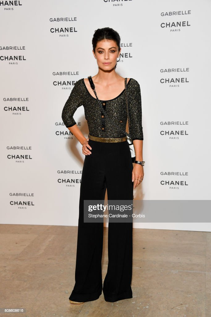 Alessandra Mastronardi attends the launch party for Chanel's new perfume 'Gabrielle' as part of Paris Fashion Week on July 4, 2017 in Paris, France.