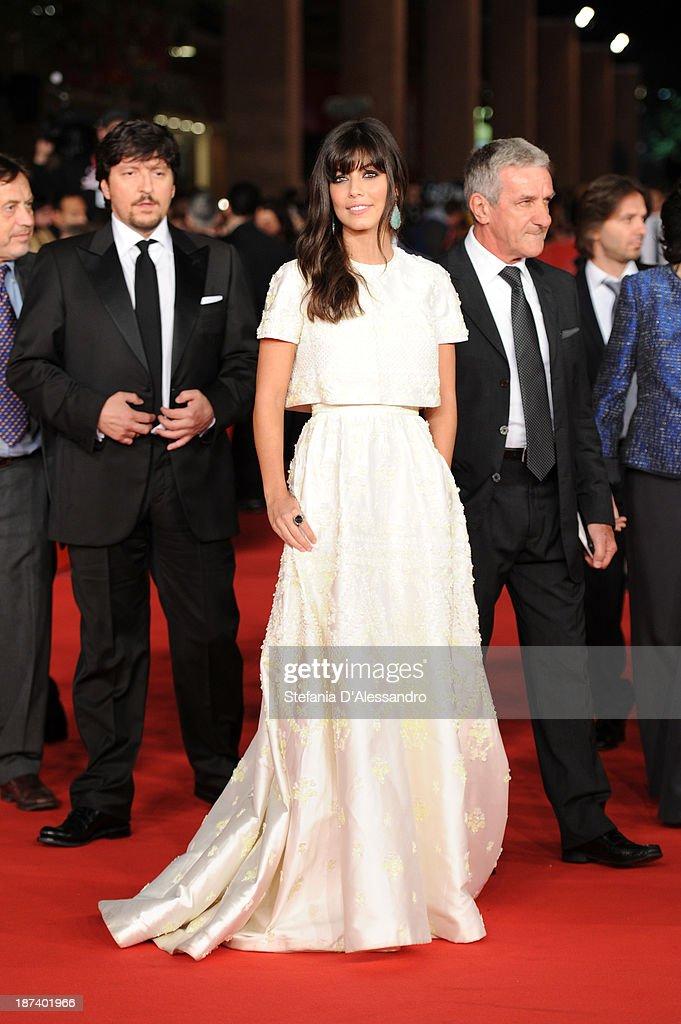 Alessandra Mastronardi attends the Opening Ceremony and 'L'Ultima Ruota Del Carro' Premiere during The 8th Rome Film Festival on November 8 2013 in...