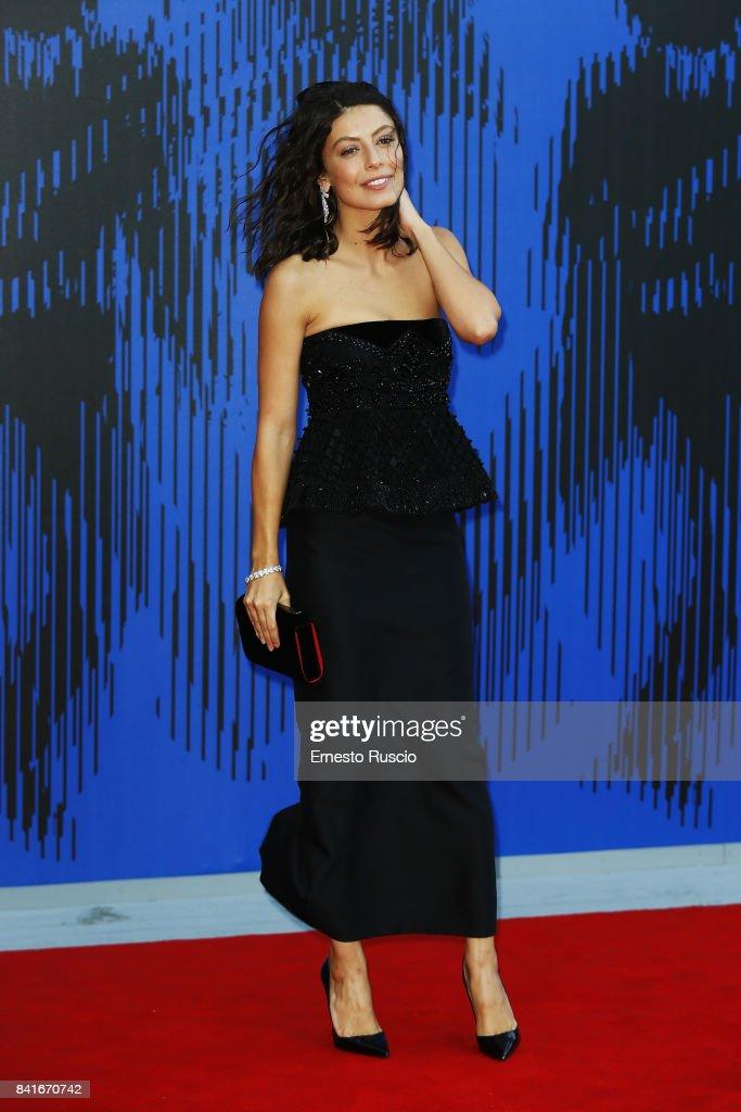 Alessandra Mastronardi attends the The 1st Franca Sozzani Award during the 74th Venice Film Festival at Sala Giardino on September 1, 2017 in Venice, Italy.