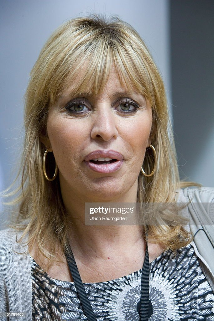 <a gi-track='captionPersonalityLinkClicked' href=/galleries/search?phrase=Alessandra+Mussolini&family=editorial&specificpeople=243183 ng-click='$event.stopPropagation()'>Alessandra Mussolini</a>, member of the EVP in the European Parliament and granddaughter of former dictator Benito Mussolini, on July 02, 2014 in Strasbourg, France.