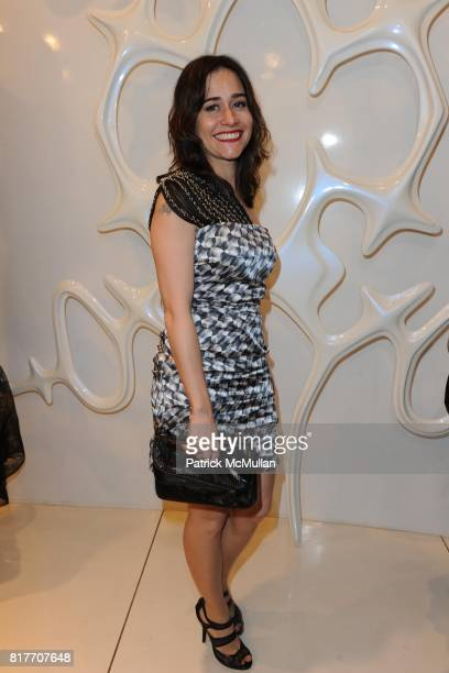 Alessandra Negrini attends Carlos Miele and Vogue Italia Celebrate Limited Edition of TShirts Designed by Lapo Elkann and Bianca Brandolini CONTACT...