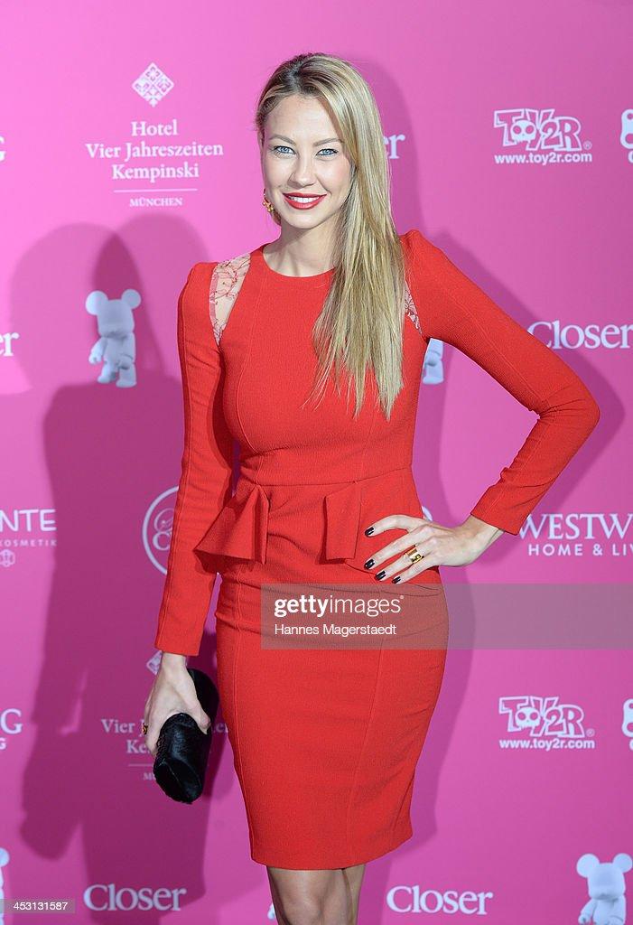 Alessandra Pocher attends the Closer Charity Event SMILE at Hotel Vier Jahreszeiten on December 2, 2013 in Munich, Germany.