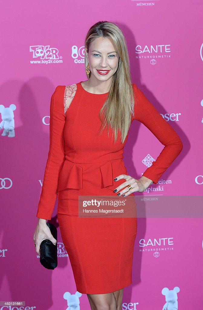 Alessandra Pocher attends the Closer Charity Event SMILE at Hotel Vier Jahreszeiten on December 2, 2013 in Munich, Germany.