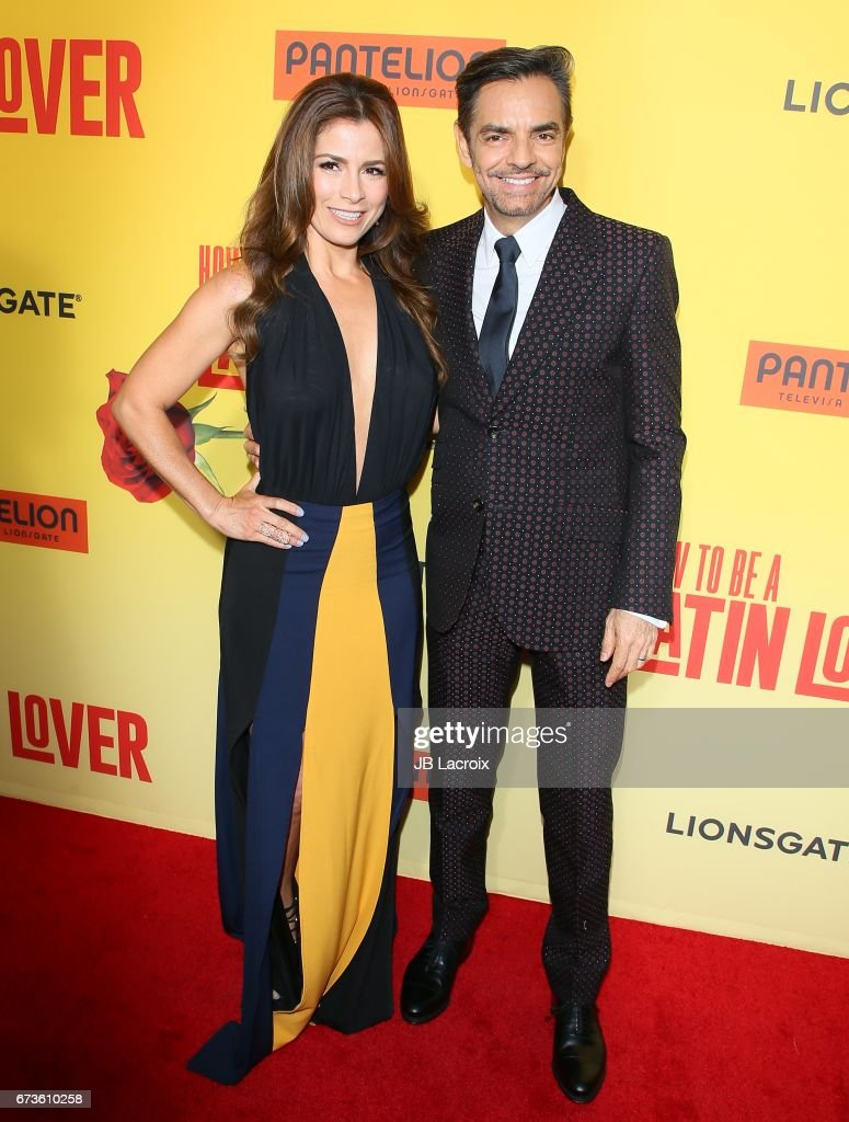 Alessandra Rosaldo And Eugenio Derbez Attend The Premiere Of Pantelion  Films' 'how To Be