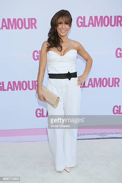 Alessandra Rosaldo attends the Glamour Magazine Mexico Beauty Awards 2013 at Museo Rufino Tamayo on February 13 2014 in Mexico City Mexico