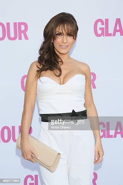 Alessandra Rosaldo attends the Glamour Magazine México Beauty Awards 2013 at Museo Rufino Tamayo on February 13 2014 in Mexico City Mexico