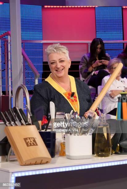 Alessandra Spisni attends La Prova Del Cuoco Tv Show on October 16 2017 in Rome Italy