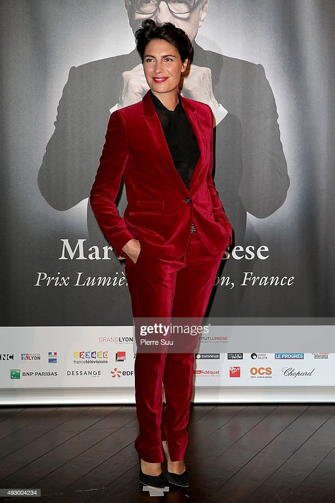 <a gi-track='captionPersonalityLinkClicked' href=/galleries/search?phrase=Alessandra+Sublet&family=editorial&specificpeople=4327242 ng-click='$event.stopPropagation()'>Alessandra Sublet</a> attends the Tribute to Martin Scorsese as part of the 7th Film Festival Lumiere on October 16, 2015 in Lyon, France.