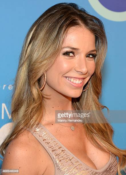 Alessandra Villegas attends 2014 Billboard Latin Music Awards Press Conference to announce nominations at Gibson Miami Showroom on February 5 2014 in...