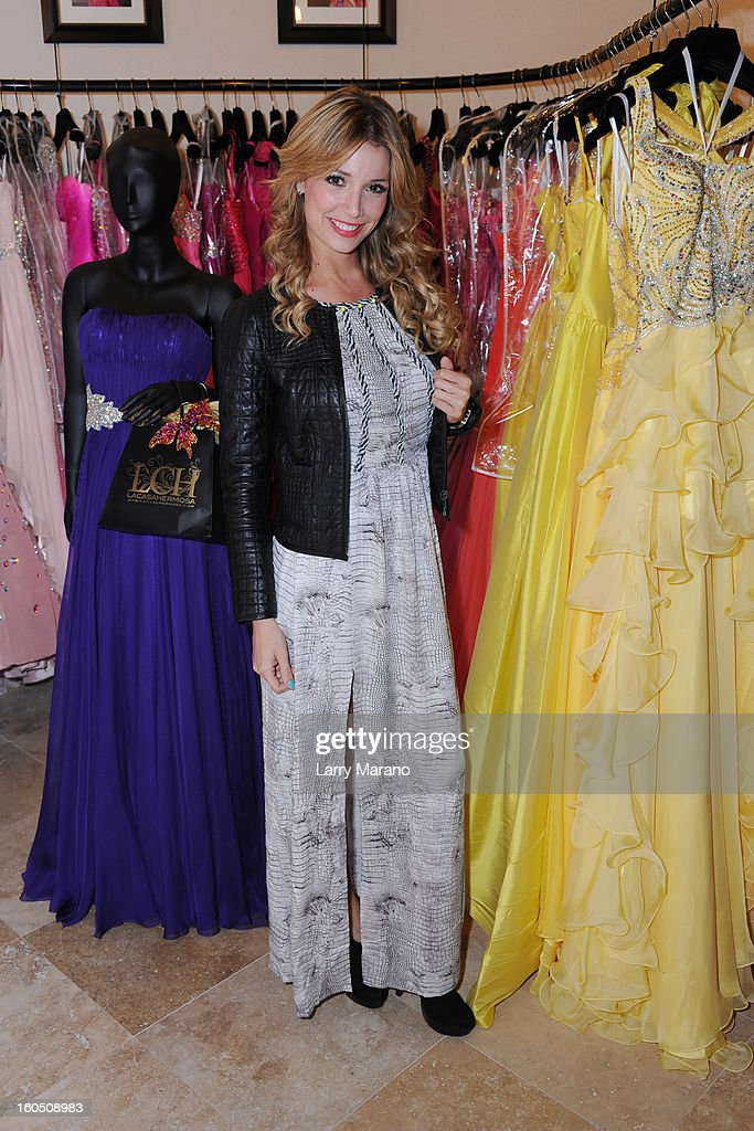 Alessandra Villegas attends Prom's Night Out At La Casa Hermosa on February 1, 2013 in Wellington, Florida.
