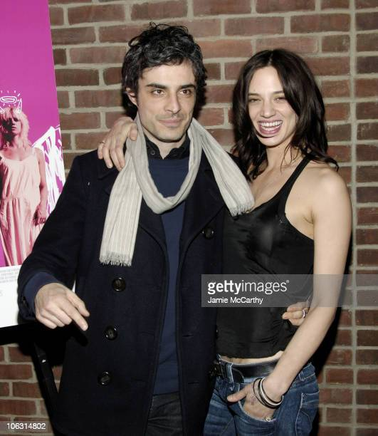 Alessandro Ania and Asia Argento during 'The Heart is Deceitful Above All Things' New York City Premiere After Party at Hudson Hotel in New York City...