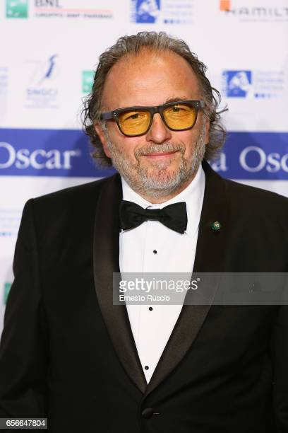 Alessandro Bertolazzi attends a photocall for Nastri D'Argento at Auditorium Parco Della Musica on March 22 2017 in Rome Italy