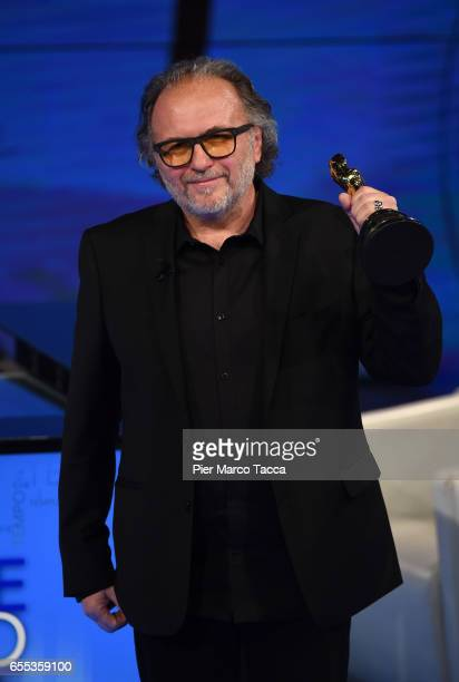 Alessandro Bertolazzi attends 'Che Tempo Che Fa' Tv Show on March 19 2017 in Milan Italy