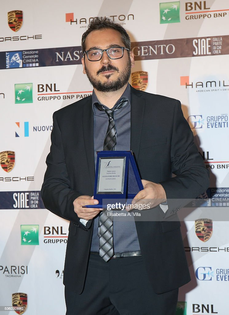 <a gi-track='captionPersonalityLinkClicked' href=/galleries/search?phrase=Alessandro+Bianchi&family=editorial&specificpeople=577259 ng-click='$event.stopPropagation()'>Alessandro Bianchi</a> attends Nastri D'Argento 2016 Award Nominations at Maxxi on May 31, 2016 in Rome, Italy.