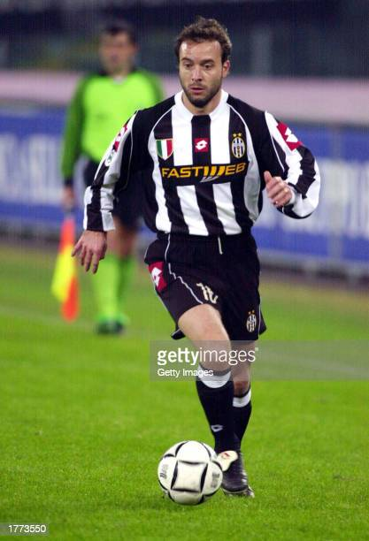 Alessandro Birindelli of Juventus in actionduring the Serie A match between Juventus and Empoli played at the Stadio Delle Alpi Turin Italy on...