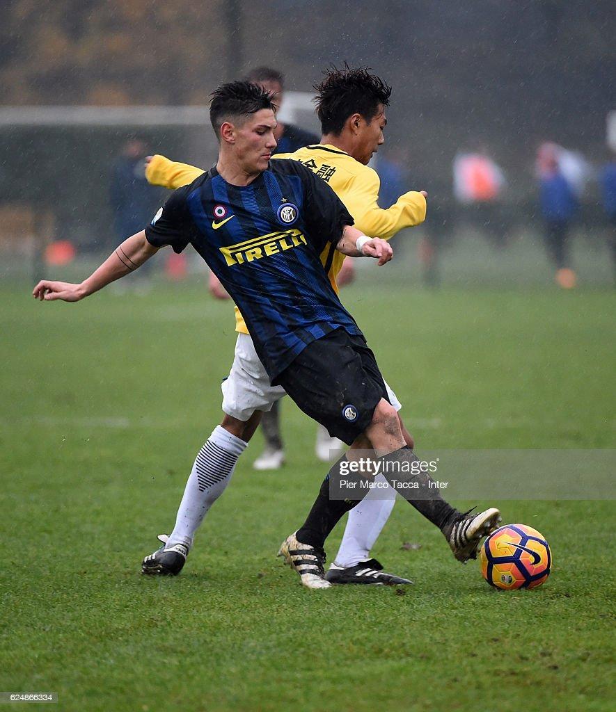 FC Internazionale Primavera v Jiangsu Suning FC U19 s and