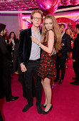 Alessandro Bonomi and Sofia Strazzabosco at The Naked Heart Foundation's Fabulous Fund Fair in London at Old Billingsgate Market on February 20 2016...