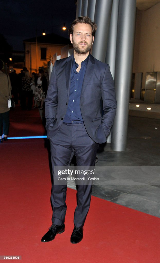 <a gi-track='captionPersonalityLinkClicked' href=/galleries/search?phrase=Alessandro+Borghi&family=editorial&specificpeople=7442167 ng-click='$event.stopPropagation()'>Alessandro Borghi</a> attends Nastri D'Argento 2016 Award Nominations Red carpet on May 31, 2016 in Rome, Italy.
