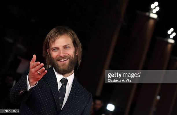 Alessandro Borghi walks a red carpet for 'The Place' during the 12th Rome Film Fest at Auditorium Parco Della Musica on November 4 2017 in Rome Italy