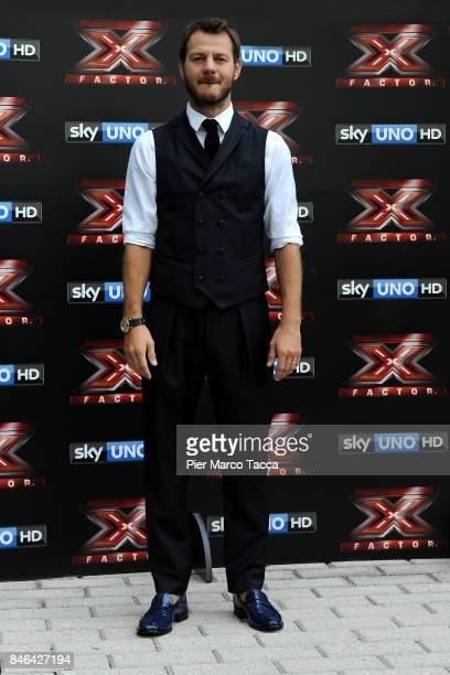 Alessandro Cattelan attends X Factor 11 Photocall on September 13 2017 in Milan Italy