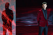 Alessandro Cattelan attends 'X Factor' TV Show on November 20 2014 in Milan Italy