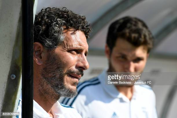 Alessandro Dal Canto during the preseason friendly match between Juventus A and Juventus B on August 17 2017 in Villar Perosa Italy