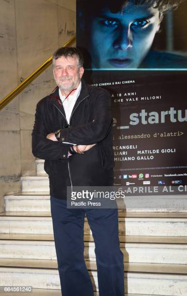 Alessandro D'Alatri attends a photocall for 'The Startup'