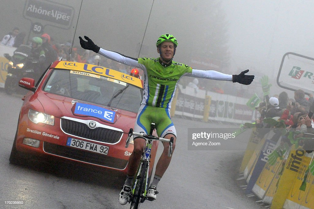 Alessandro De Marchi of Team Cannondale during Stage Eight of the Criterium du Dauphine, Sisteron to Risoul, France on Sunday 09 June 2013.