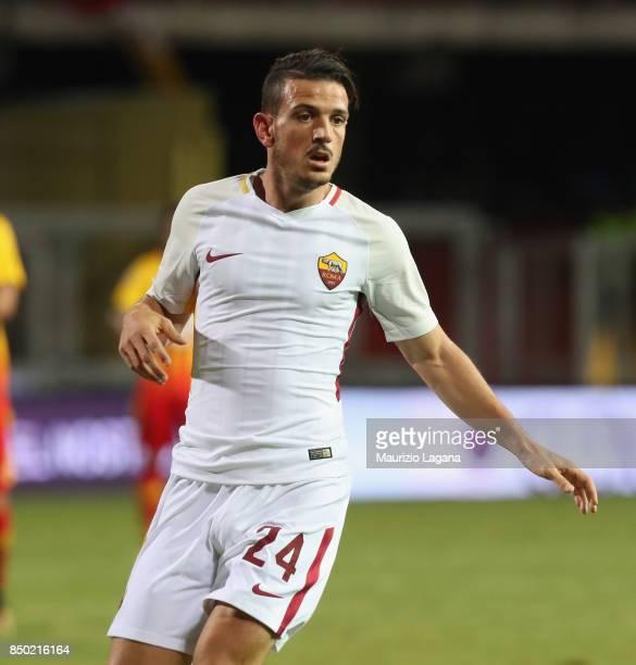 Alessandro Florenzi of Roma in actionduring the Serie A match between Benevento Calcio and AS Roma at Stadio Ciro Vigorito on September 20 2017 in...