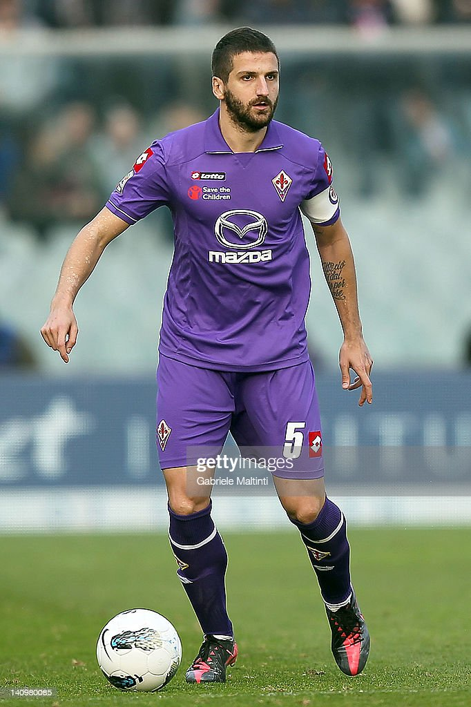 Alessandro Gamerini of ACF Fiorentina in action during the Serie A match between ACF Fiorentina and AC Cesena at Stadio Artemio Franchi on March 4, 2012 in Florence, Italy.