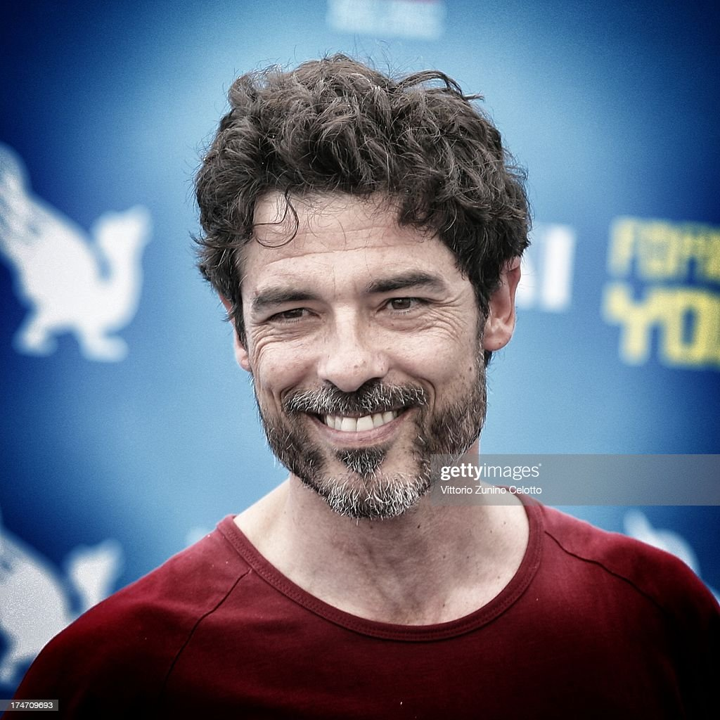 Alessandro Gassman attends 2013 Giffoni Film Festival photocall on July 28, 2013 in Giffoni Valle Piana, Italy.