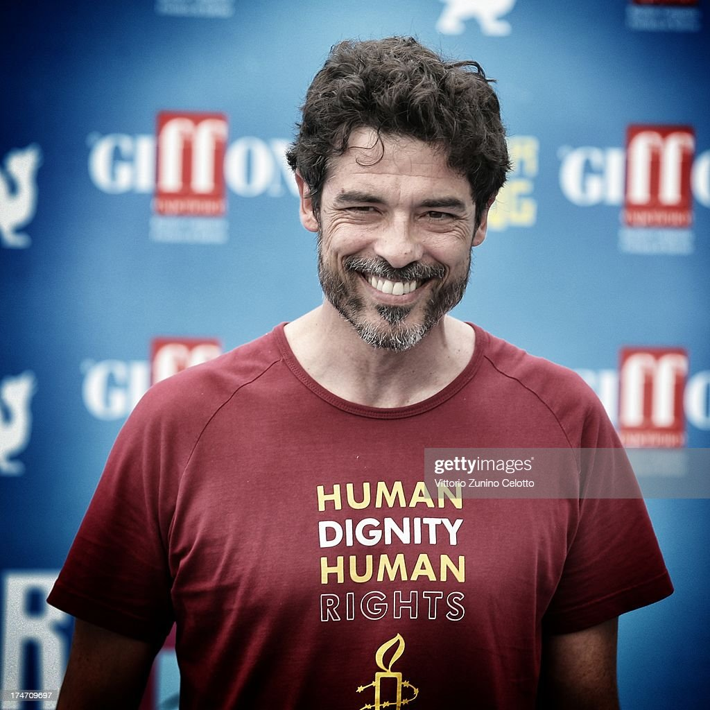 Alessandro Gassman attends attends 2013 Giffoni Film Festival photocall on July 28, 2013 in Giffoni Valle Piana, Italy.
