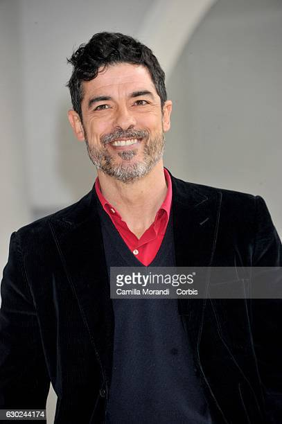 Alessandro Gassmann attends a photocall for 'Bastardi Di Pizzofalcone' Tv Series Photocall on December 19 2016 in Rome Italy