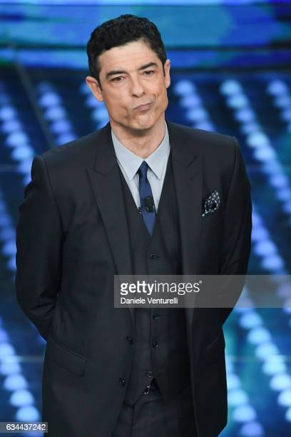 Alessandro Gassmann attends the third night of the 67th Sanremo Festival 2017 at Teatro Ariston on February 9 2017 in Sanremo Italy