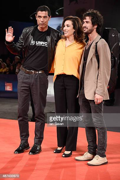 Alessandro Gassmann Carlotta Sami and guest attend a premiere for 'De Palma' And JaegerLeCoultre Glory to the Filmmaker 2015 Award during the 72nd...