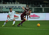 Alessandro Gazzi during Tim Cup match between Torino FC and AC Cesena at the Olympic Stadium of Turin on December 01 2015 in Turin Italy