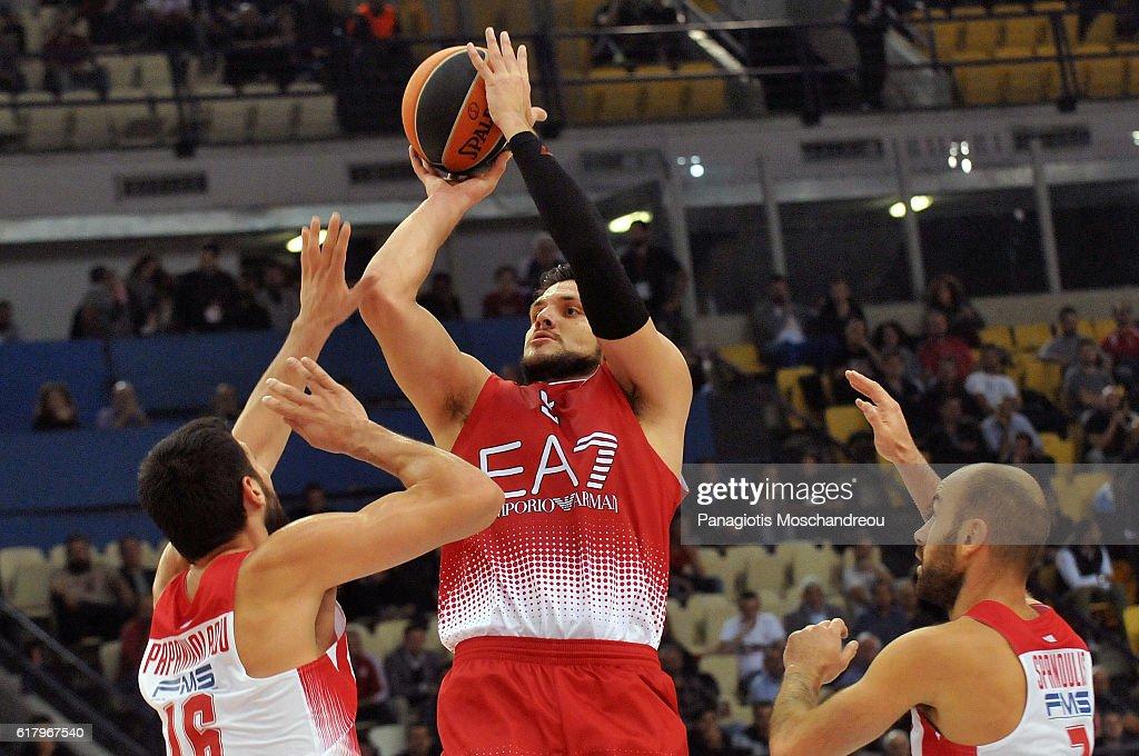 Olympiacos Piraeus v EA7 Emporio Armani Milan - Turkish Airlines Euroleague