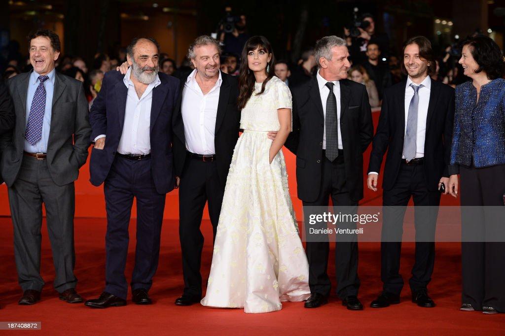 Alessandro Haber Giovanni Veronesi Alessandra Mastronardi and Ernesto Fioretti and guest attend the Opening Ceremony and 'L'Ultima Ruota Del Carro'...